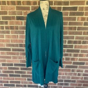 NWT Lane Bryant open front cardigan